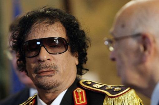 Gaddafi är död